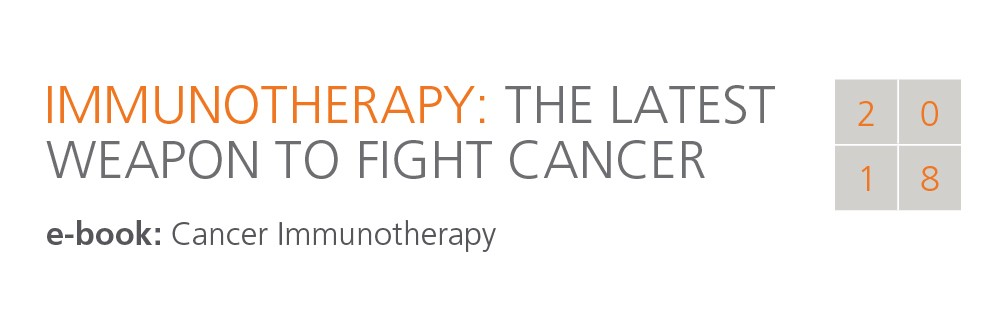 Immunotherapy the lastest weapon to fight cancer e-book cover image