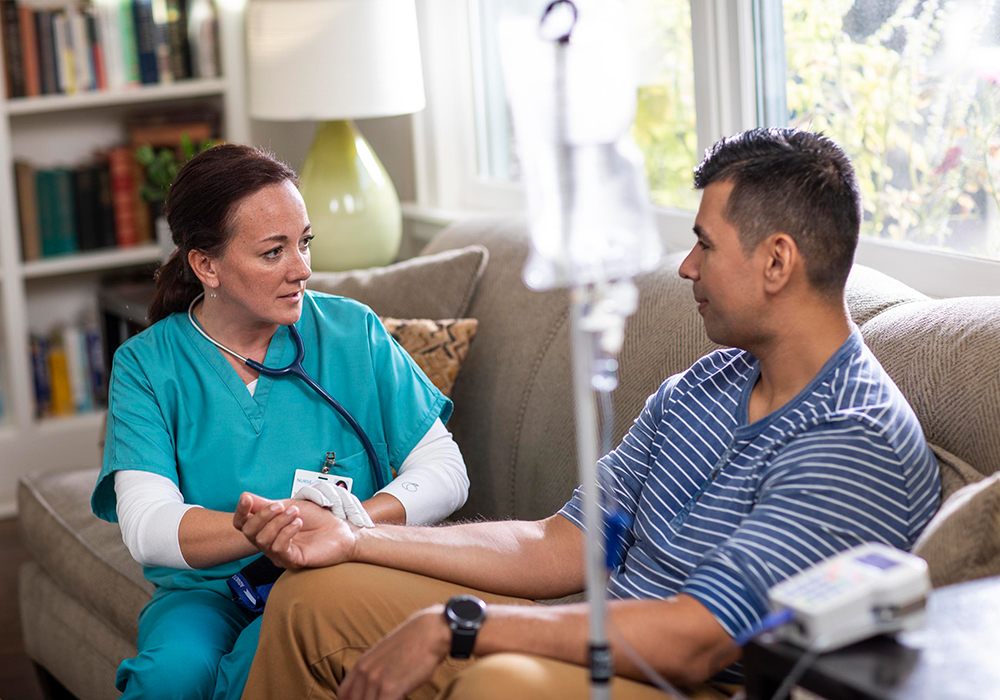 At-home infusion therapy benefits patients and costs