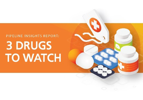 aside img of Three drugs to watch now