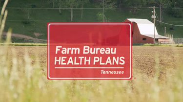 Still frame from video featuring Farm Bureau Health Plans Tennessee