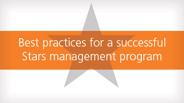 Best practices for a successful Stars management program