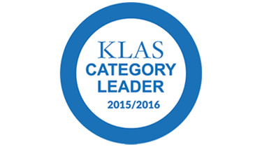 KLAS category leader 2015 to 2016