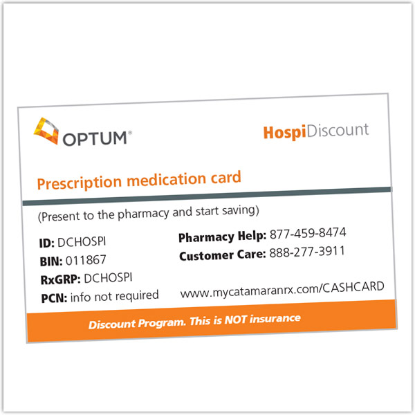Hospice Prescription Discount Cards
