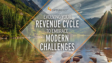 "Cover of e-book titled ""Advancing the Revenue Cycle Toward a Denial-Free Future"