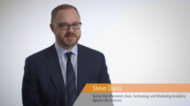 Steve Davis from Data, Technology Marketing Analytics, Optum Life Sciences